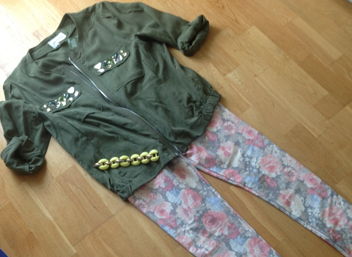Flowers and camo
