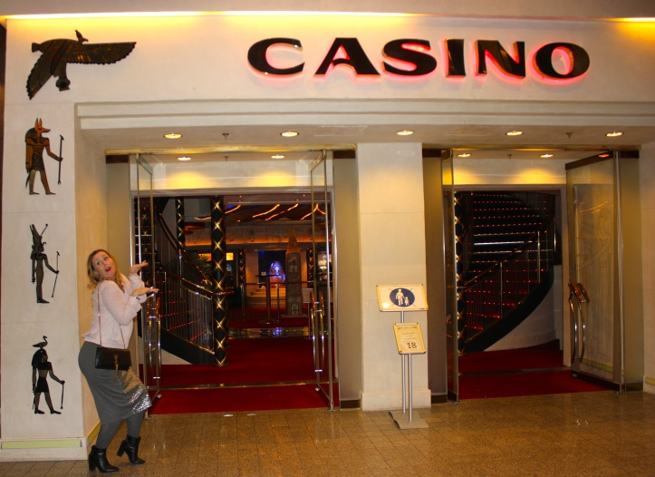 Entering the casino in a non-traditional way